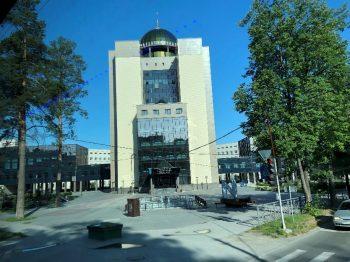 ノボシビルスク大学の宿泊施設